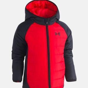 0319a90db Under Armour Jackets & Coats - Little Boys Under Armour Werewolf Puffer  Jacket